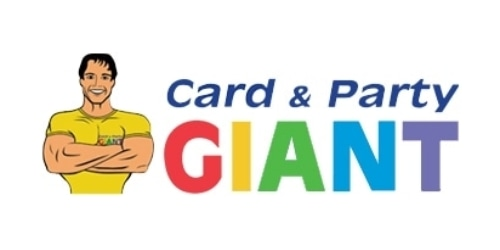 Card & Party Giant coupon