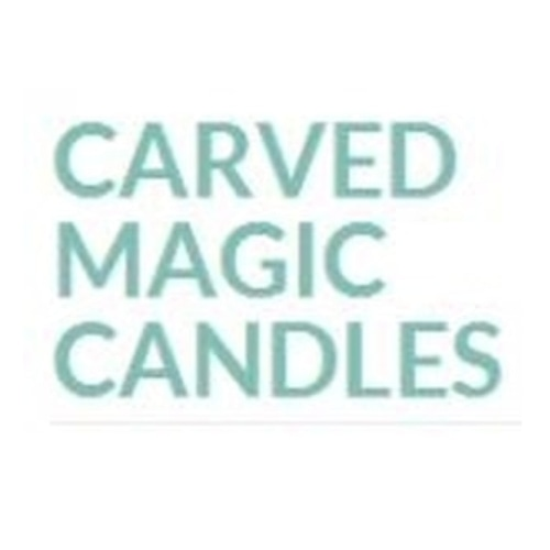 Carved Magic Candles