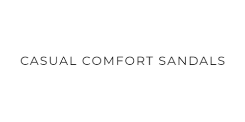 Casual Comfort Sandals coupon