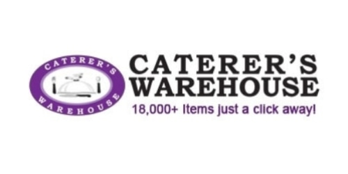 Caterer's Warehouse coupon
