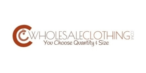 CC Wholesale Clothing coupon