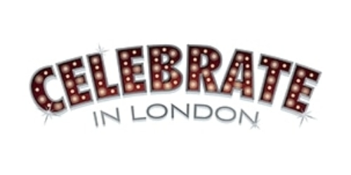 Celebrate In London coupon