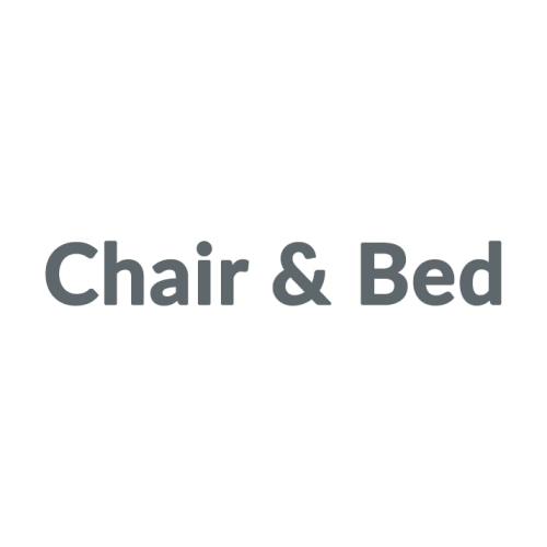 Chair & Bed