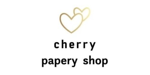 Cherry Papery Shop coupon