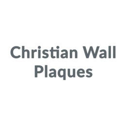 Christian Wall Plaques