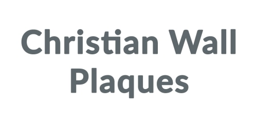 Christian Wall Plaques coupon