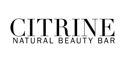 Citrine Natural Beauty coupon