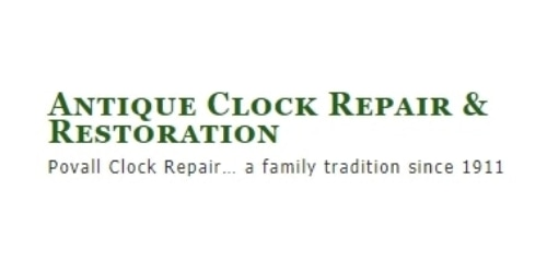 Antique Clock Repair & Restoration coupon