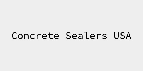 Concrete Sealers USA coupon