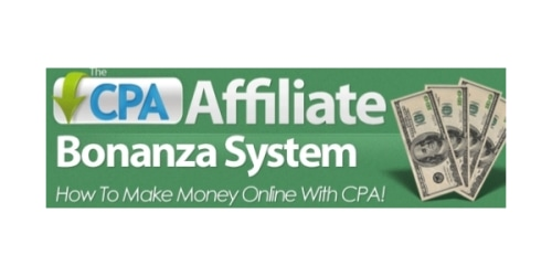 The CPA Affiliate Bonanza System coupon