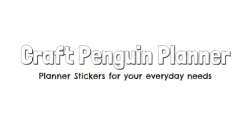 Craft Penguin Planner coupon