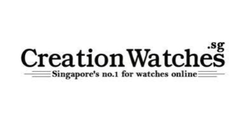 Creation Watches coupon