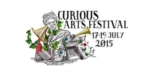 The Curious Arts Festival - 2015 coupon