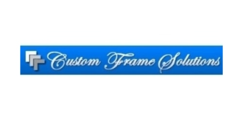 Custom Frame Solutions coupon