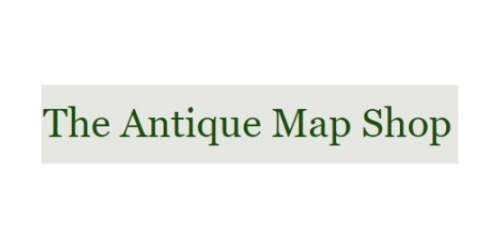The Antique Map Shop coupon