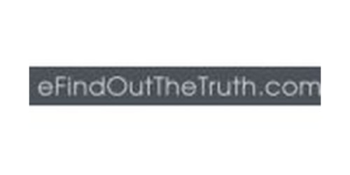 eFindOutTheTruth.com coupon