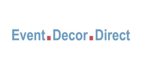 Event Decor Direct coupon