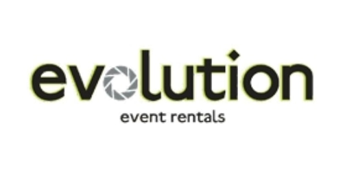 Evolution Event Rentals coupon