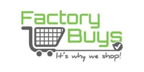 Factory Buys coupon