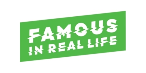 Famous In Real Life coupon