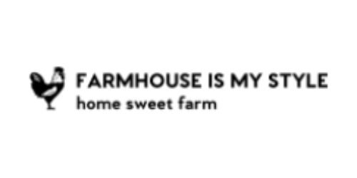 Farmhouse Is My Style coupon
