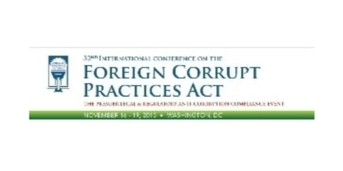 FCPA Conference coupon