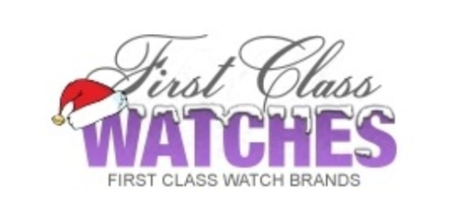 First Class Watches coupon