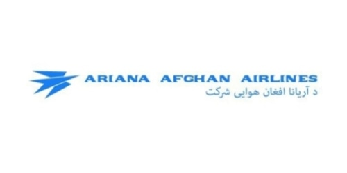 Ariana Afghan Airlines coupon