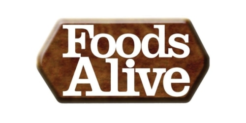 Foods Alive coupon