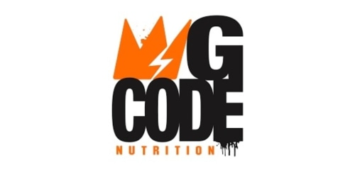 GCode Nutrition coupon