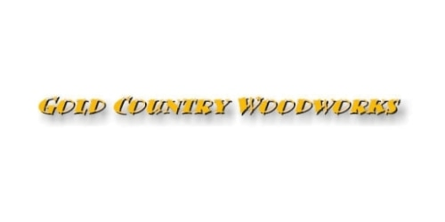 Gold Country Woodworks coupon