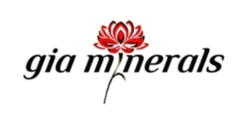 Gia Minerals coupon