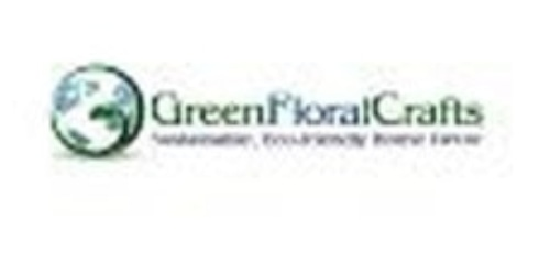 Green Floral Crafts coupon