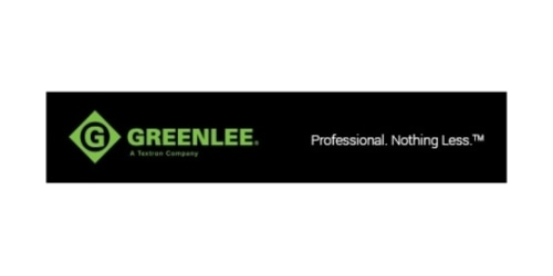 Greenlee coupon