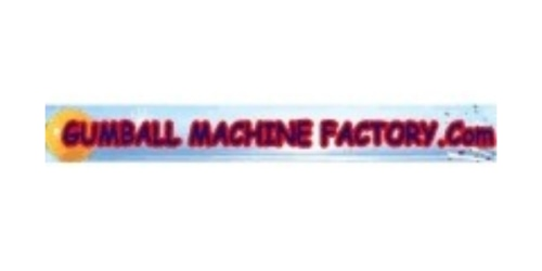 Gumball Machine Factory coupon