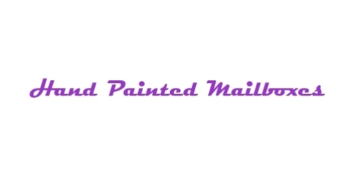 Handpainted Mailboxes coupon