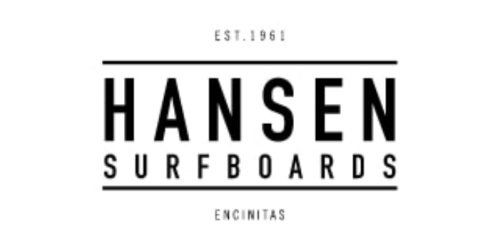 Hansen Surfboards coupons