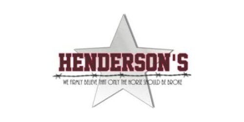 Henderson's Western Store coupon