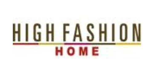 High Fashion Home coupon