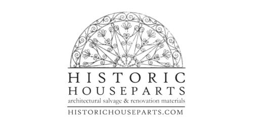 Historic Houseparts coupon