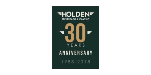Holden Vintage & Classic coupon