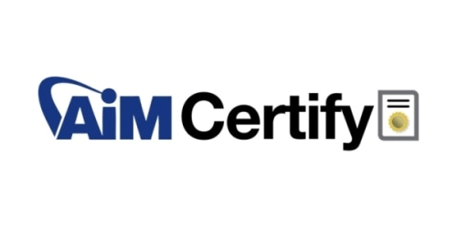 AiM Certify coupon