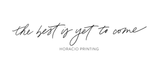 Horacio Printing coupon