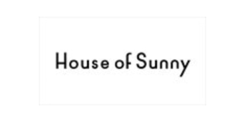 House Of Sunny coupon