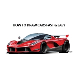 How To Draw Cars Fast & Easy