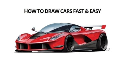 How To Draw Cars Fast & Easy coupon