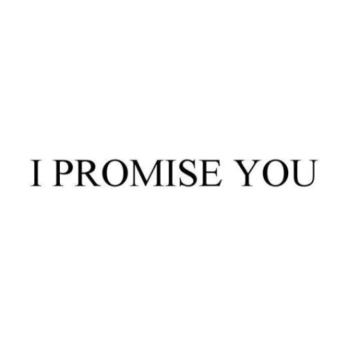 I Promise You Jewelry