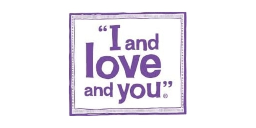I and Love and You coupon