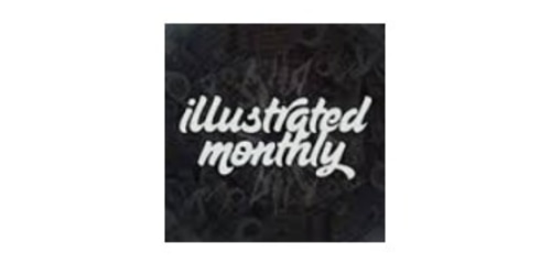 Illustrated Monthly coupon