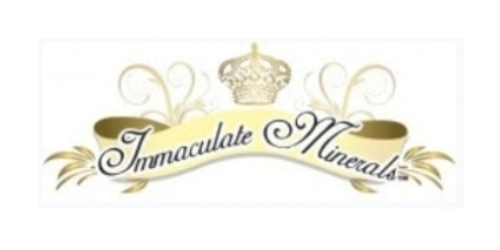 Immaculate Minerals coupon